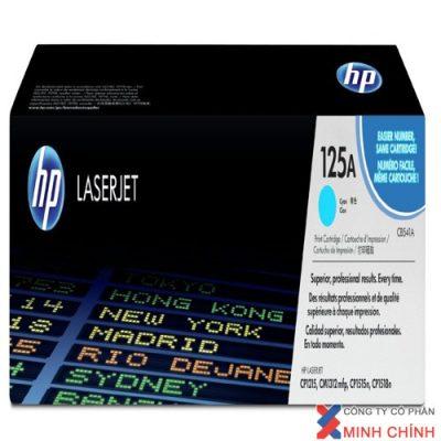 HP 125A Cyan Original LaserJet Toner Cartridge (CB541A)