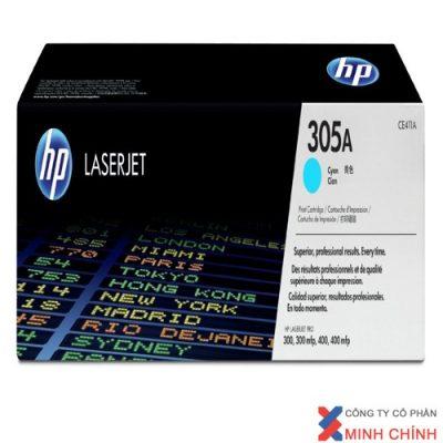 HP 305A Cyan Original LaserJet Toner Cartridge (CE411A)