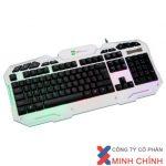 Bàn phím máy tính Keyboard R8 – 1825 (USB) TRẮNG ĐEN