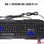 Bộ chuột bàn phím  Keyboard & Mouse R8 1906 (P + U)