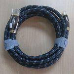 Cáp HDMI 3M Chính Hãng Z-TEK (ZY200) bọc lưới