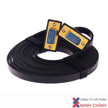 Cáp VGA CABLE VGA ULTRA SLIM 1,8 M DTECH (DT-69F18)