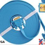 Cáp VGA  CABLE VGA ULTRA SLIM 3 M DTECH (DT-69F30)