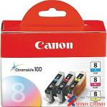 Mực in Canon CLI-8 C,M,Y