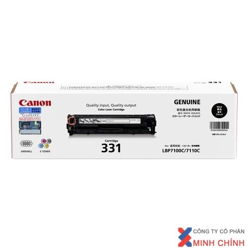 Mực in Canon Cartridge 331 BK