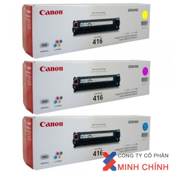 Mực in Canon Cartridge 416 C, M, Y