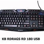 BÀN PHÍM RDRAGS  RD180 (USB) (CÓ LED)