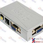 THIẾT BỊ CHUYỂN TÍN HIỆU VGA,SVIDEO,AV TỚI VGA (DT-7003) chuẩn ,giá rẻ.