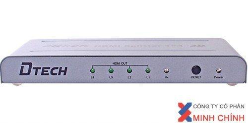 THIẾT BỊ CHIA TÍN HIỆU HDMI ( 1 VÀO 4 RA ) DT7144 chuẩn ,giá rẻ.