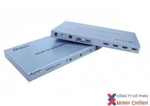 THIẾT BỊ CHIA TÍN HIỆU HDMI DT7029 (4 VÀO 2 RA) chuẩn ,giá rẻ.