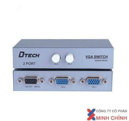 THIẾT BỊ CHIA TÍN HiỆU VGA 2-1 DTECH (DT-7032)