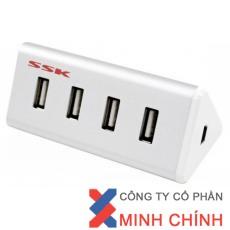 THIẾT BỊ CHIA TÍN HIỆU USB 4 CỔNG (SHU-025)