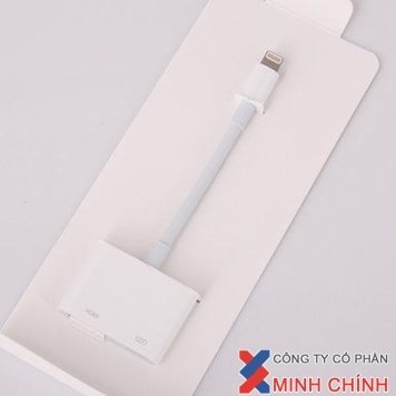 CÁP LIGHTNING TO HDMI MD-826 CHO IPAD 1-2-3-4/IPAD MINI/IPAD AIR 1-2/ IP5/IP5S/IP5C/IP6/IP6S PLUS CHÍNH HÃNG APPLE