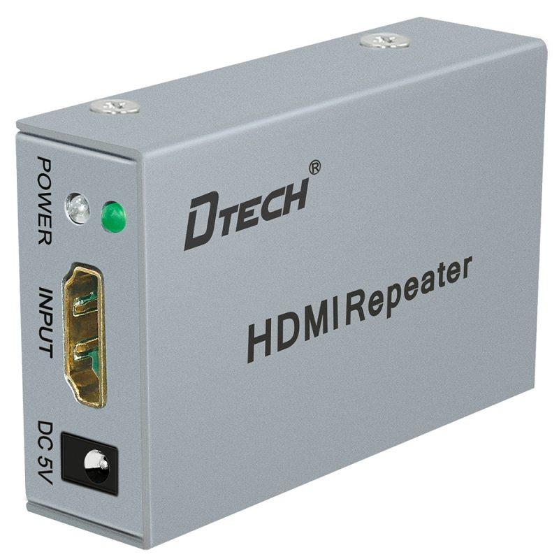 Bộ khuếch đại tín hiệu HDMI 30m DTECH  (DT-7042)