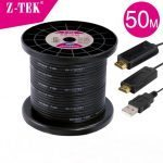 CÁP HDMI 50M  Z-TEK (ZY-040)(SỢI QUANG)