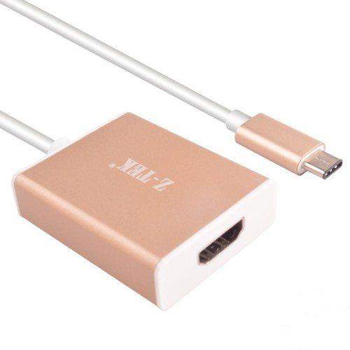 CÁP USB TYPE C TO HDMI Z-TEK (ZY-230)
