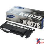 Mực in SamSung CLT-K407S/SEE , giá rẻ – Dùng cho máy CLP-320/325/320N/325W/CLX-3185FN/3185/3185FW (đen)