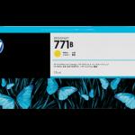 Mực in Phun màu HP 771B 775-ml B6Y02A