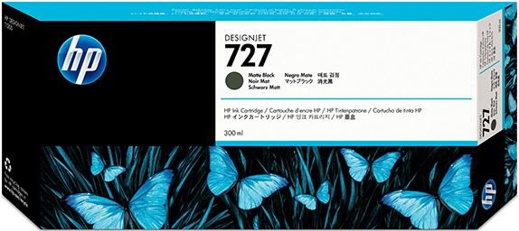 Mực in Phun màu HP 727 300-ml Matte Black DesignJet Ink Cartridge (C1Q12A)