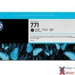 Mực in Phun màu HP 771A 775ml Mte Blk Designjet Ink Crtg (CE037A)