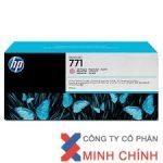 Mực in Phun màu HP 771A 775-ml (CE041A) – màu đỏ nhạt