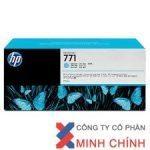 Mực in Phun màu HP 771A 775-ml (CE042A) –  màu xanh nhạt