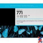 Mực in Phun màu HP 771A 775-ml(CE044A) –  Màu xám nhạt