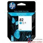 Mực in Phun màu HP 82 69-ml (C4911A)