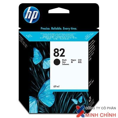 Mực in Phun màu HP 82 69-ml Black DesignJet Ink Cartridge