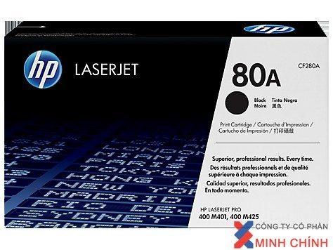 Mực in Laser đen trắng HP 80A (CF280A)