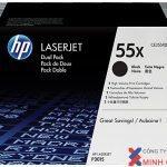Mực in Laser đen trắng HP 55XD (CE255XD)