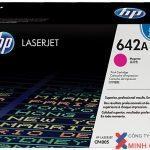 Mực in Laser màu HP642 (CB403A) Magenta – Màu đỏ