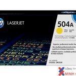 Mực in Laser màu HP 504A Yellow (CE252A) – Màu vàng