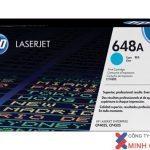 Mực in Laser màu HP 648A (CE261A) Cyan – Màu xanh