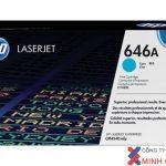 Mực in Laser màu HP 646A Cyan