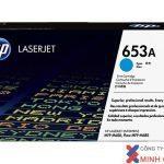 Mực in Laser màu HP 653A Cyan