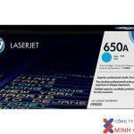 Mực in Laser màu HP 650A Cyan