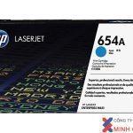 Mực in Laser màu HP 654A Cyan