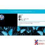 Mực in Phun màu HP 81 680-ml Black DesignJet Dye Ink Cartridge (C4930A) – Màu đen