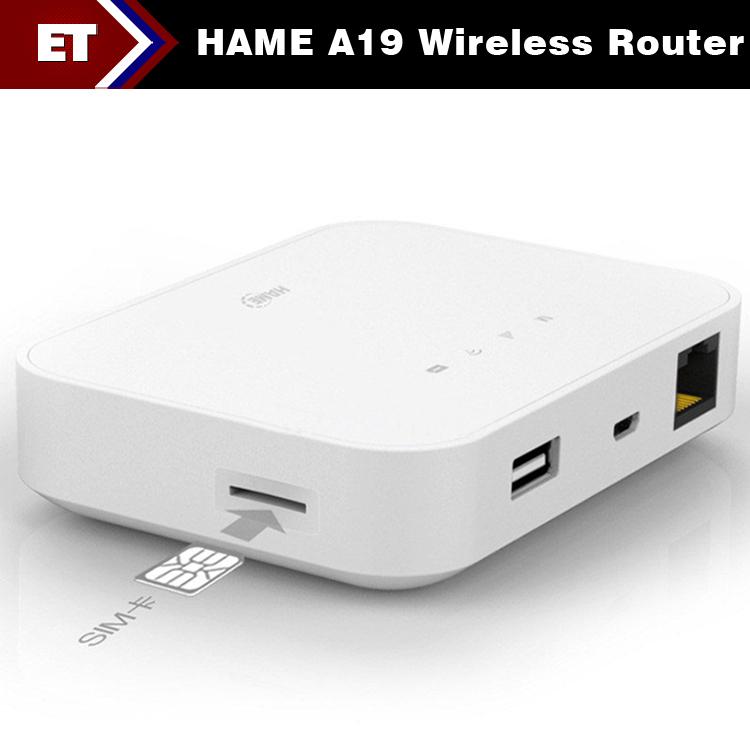 Bộ Phát WIFI DI ĐỘNG TỪ SIM 3G – Pin Sạc Dự Phòng 5200mAh HAME-A19