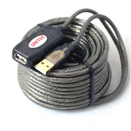Cáp USB Nối Dài 2.0 20M UNITEK Y-262 Có Chíp