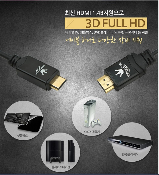 Cáp Mini HDMI to HDMI BANANA GORL