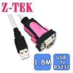 Cáp USB 2.0 Sang RS 232 (COM) Z-TEK (ZE-533A)