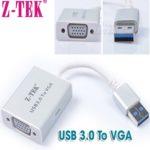 Cáp Chuyển USB 3.0 Sang VGA Z-TEK (ZY-197)
