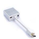 Cáp Chuyển Đổi Mini HDMI Sang VGA + Audio Z-TEK (ZY-097)