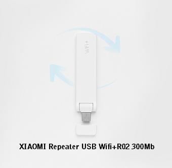 Kích sóng XIAOMI USB Wifi+R02 tốc độ cao 300Mb