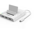 HUB USB 2.0 3-Port + 1 công LAN Fast Ethernet OTG Dock Y-2175