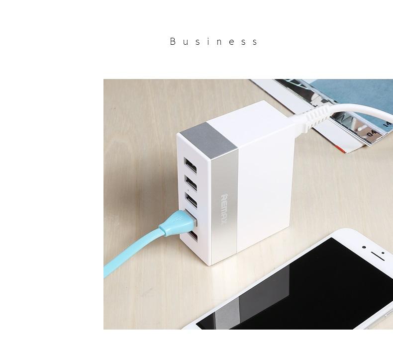 Bô sạc 5 cổng USB Remax RU-U1
