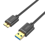USB3.0 USB-A (M) to Micro-B (M) Cable Y-C461GBK