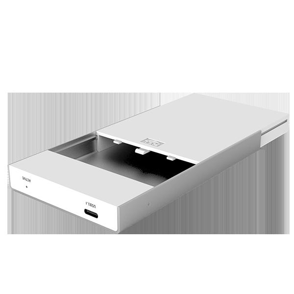 """USB3.1 Loại C đến SATA6G vỏ nhôm 2.5 """"Hard Disk Enclosure UNITEK Y3363"""